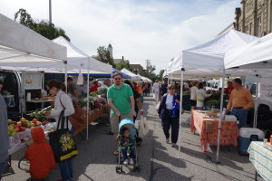 Chagrin Falls farmer's market - photo courtesy Your HomeTown Chagrin Falls
