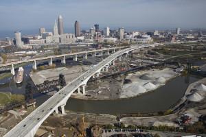 I-90's Innerbelt Bridge - courtesy ODOT