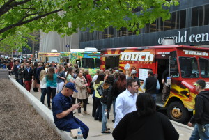 food trucks - courtesy Downtown Cleveland Alliance