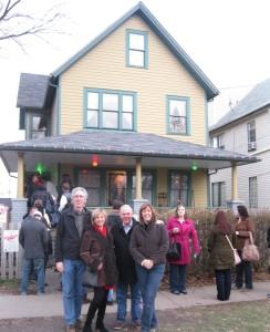 18 - Christmas story house 2
