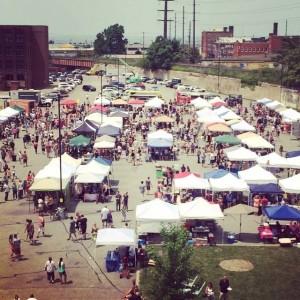 Cleveland Flea - photo courtesy St. Clair Superior CDC