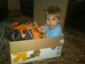 Moving is stressful even for little kids!