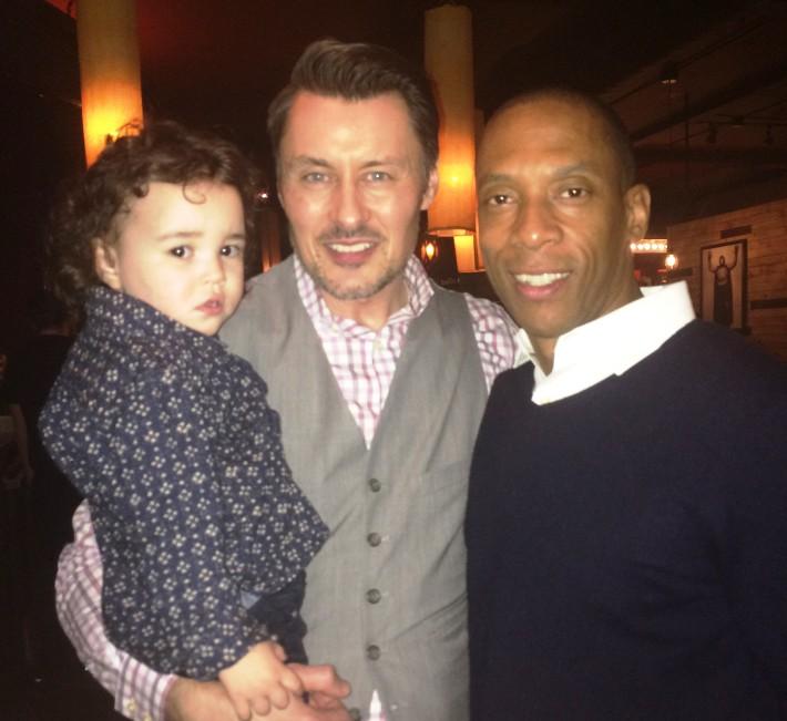 Jason Rudman, Alvin McCray & son Roman