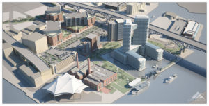 Waterfront Development in Downtown Cleveland