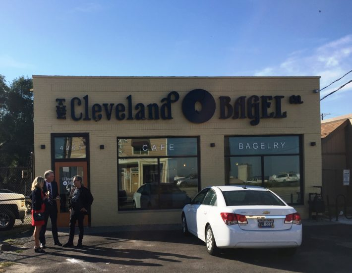 power brokers have already found Cleveland Bagel (Chris Ronayne, Debbie Berry &