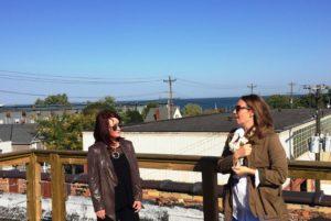 Investor Kathy Futey & GroundSwell's Anne Harnett