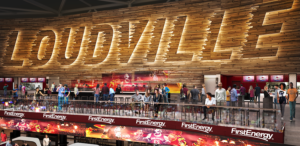 The Loudville section of the upper level concourse will be opened into the arena bowl, so fans can sit together and watch the game.