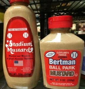 What's with the Mustard Wars in Cleveland?