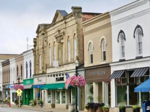 Main Street in Chagrin Falls