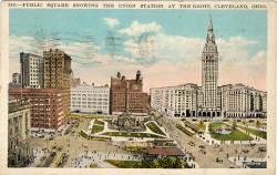 Public Square in 1928.